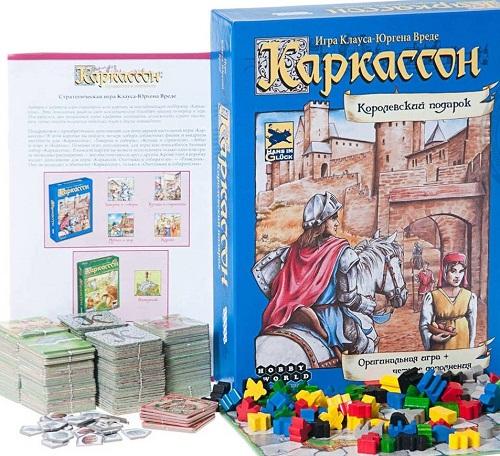 Каркассон настольная игра, carcassonne