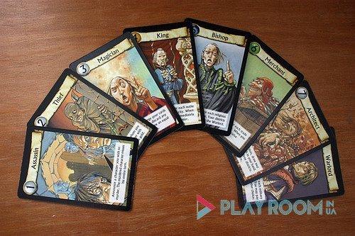 Настольная игра Цитадели карты