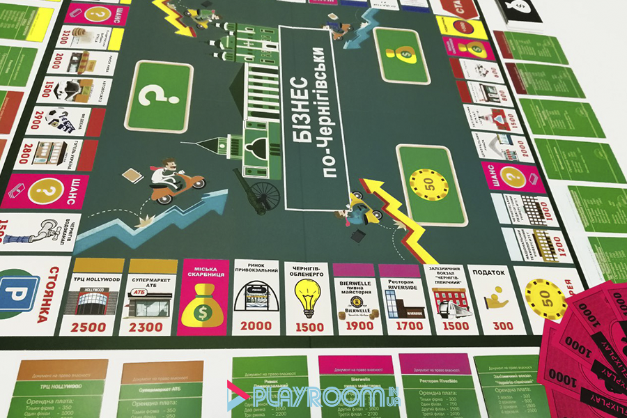Игровое поле бизнес по черниговски
