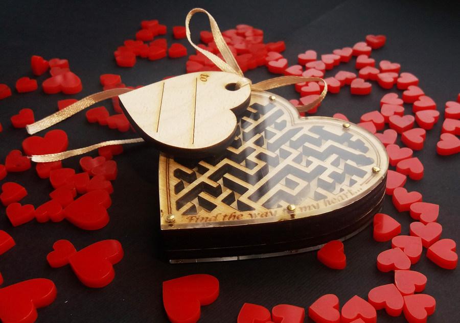 Подарок головоломка Сердце