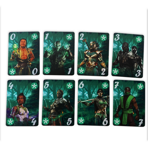 Мортал комбат карты зеленые