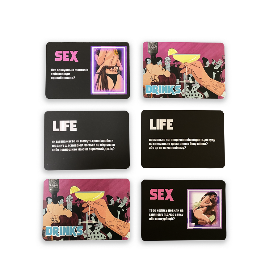 Sex Life Drinks game